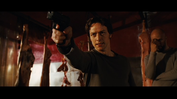 wanted-James McAvoy shooted