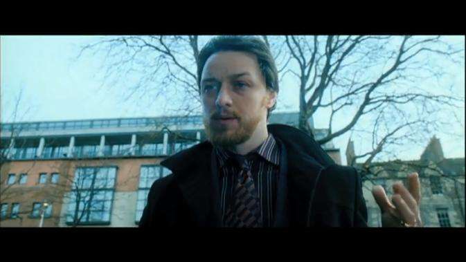 filth-James McAvoy as Bruce
