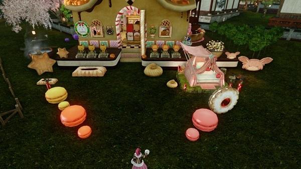 3月7日お菓子の家