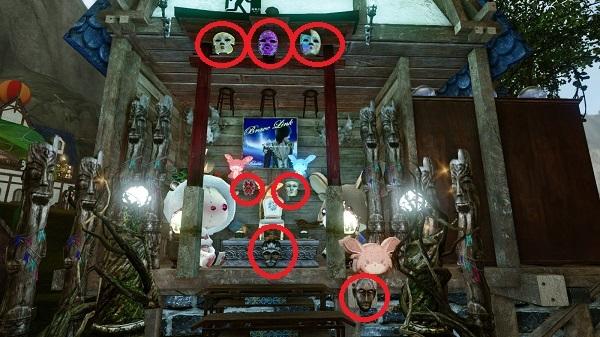 3月27日魔王様の祭壇のお面