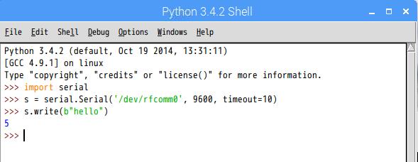pythonでシリアル通信(Raspberry Pi Zero WのBluetoothでMacと接続