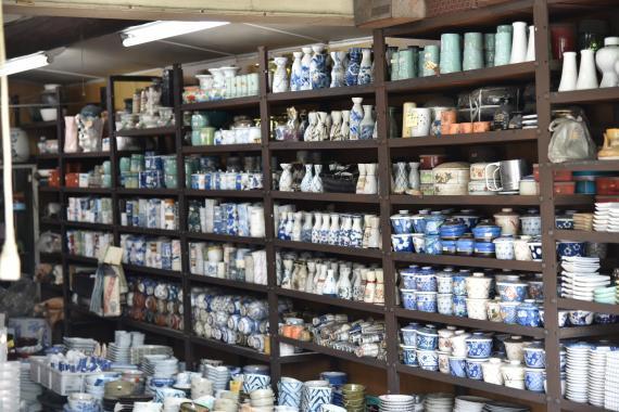 越谷宿・陶器店⑧