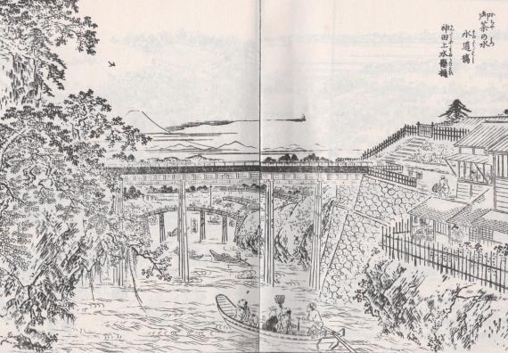 水道橋⑨江戸名所図会