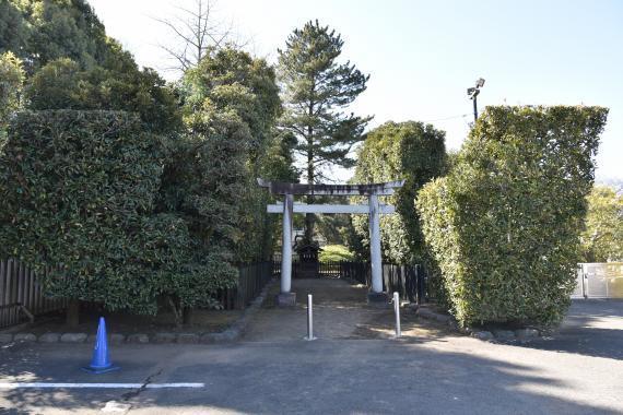 井草八幡宮②浅間神社