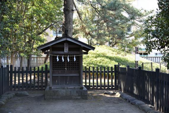 井草八幡宮③浅間神社
