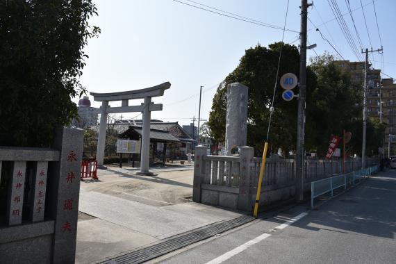 朝日氷川神社①