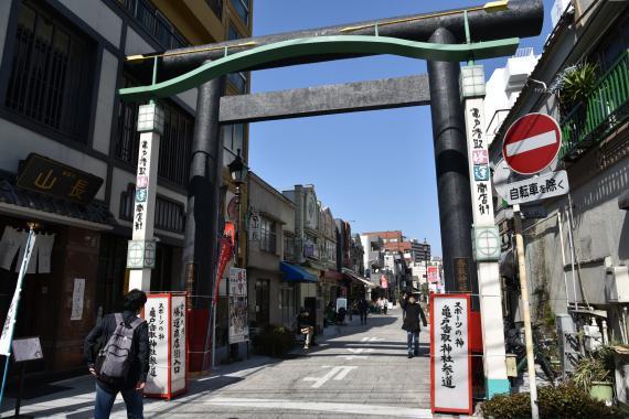 亀戸香取神社①