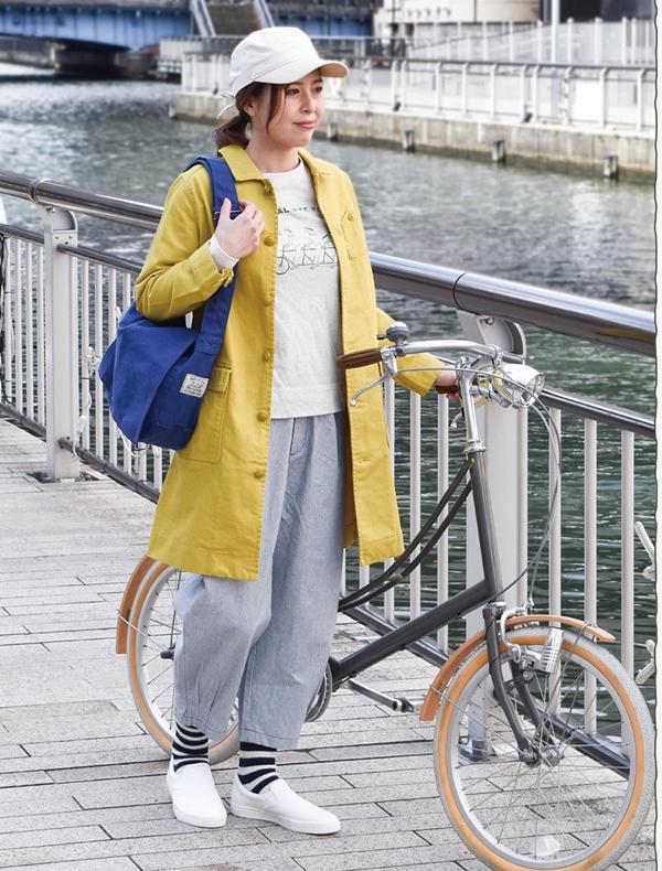 サイクリングコート