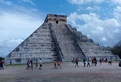 メキシコ観光「チチェン・イツァー」