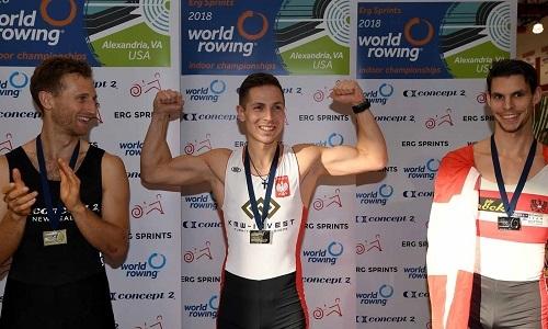 ミコライチェフスキ、エルゴ大会優勝 World Rowingより