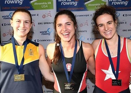 クリスティネ・カヴァッロ 女子軽量級 World Rowingより
