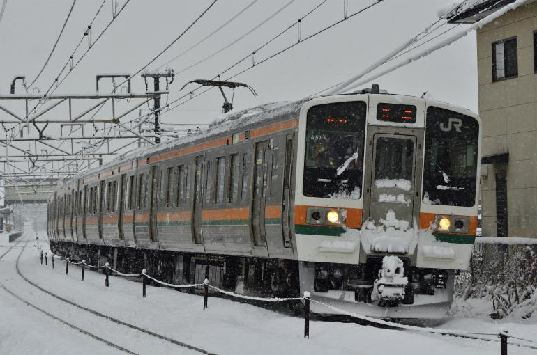 2/2 朝鉄 信越線(雪)