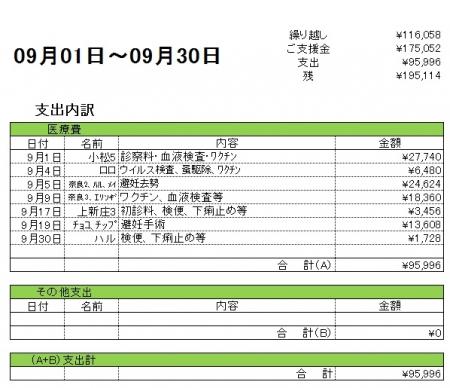 支出内訳201709