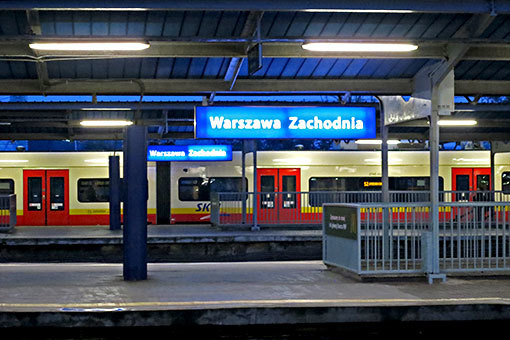 ワルシャワ西駅