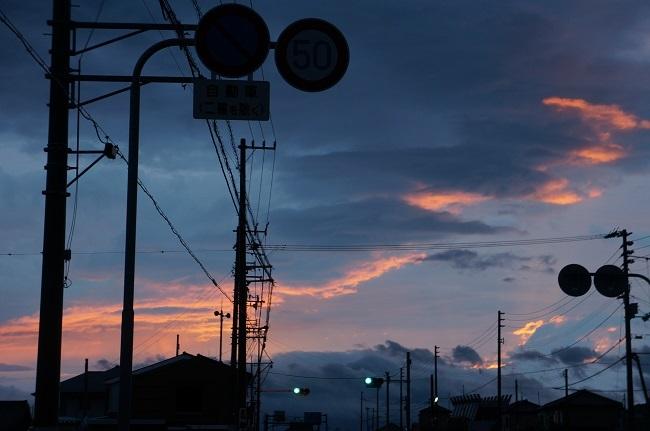 昇る朝日2