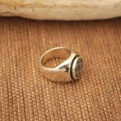 麻文様 シルバー 指輪