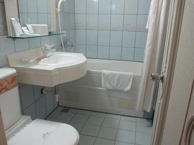 エバーラックホテルの浴室