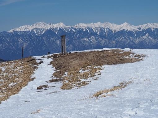 山頂からの北アルプス