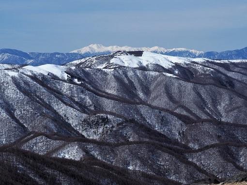 鉢伏山と乗鞍岳