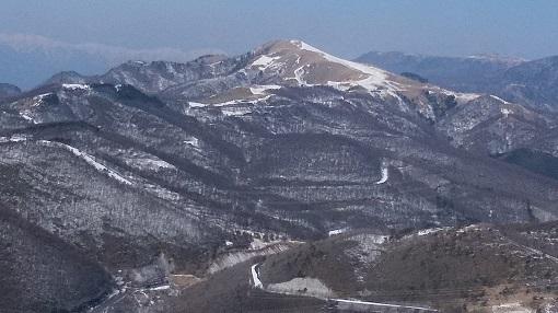 鷲ヶ峰から三峰山