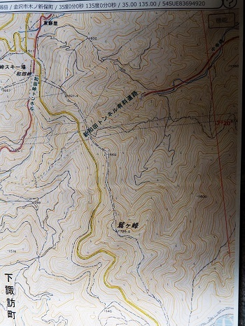 鷲ヶ峰地図