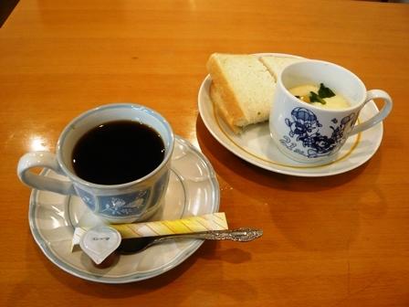 サンサーラ:ホットコーヒー・モーニング1