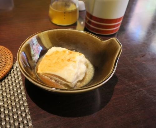 風の森 朝ごはん 湯豆腐
