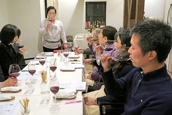 2018年3月大人ワイン_講習の様子