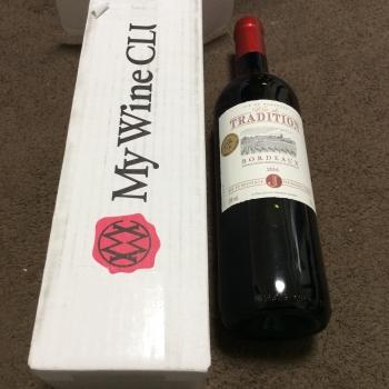 ベルーナの株主優待で選んだワインです(2018年2月22日)