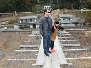 塩郷の吊橋2018-5