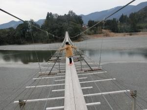 塩郷の吊橋2018-6-1