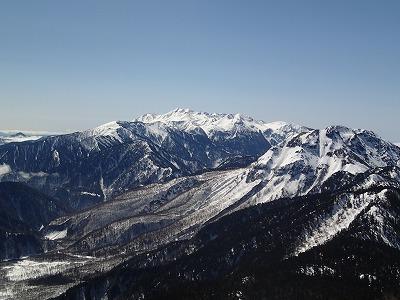 6焼岳と乗鞍岳