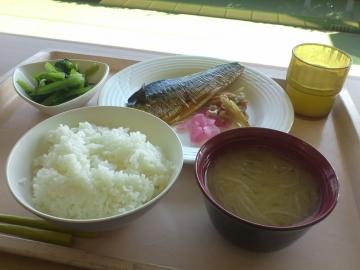 鯖の照り焼き定食