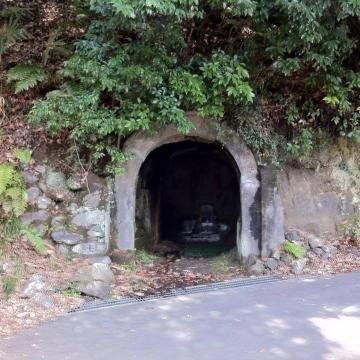 隧道かと思った
