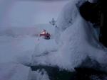 我家の雪庇