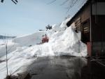 屋根雪除雪