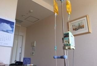 入院中_病室ベッドからの風景