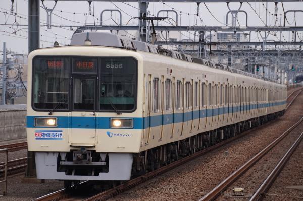 2018-02-21 小田急8056F_8256F 快速急行小田原行き