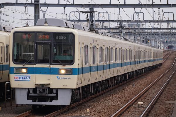 2018-02-21 小田急8059F_8259F 急行小田原行き