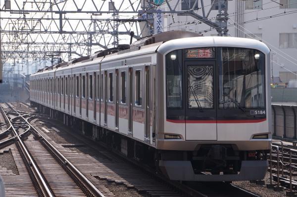 2018-02-27 東急5184F 急行鳩ヶ谷行き