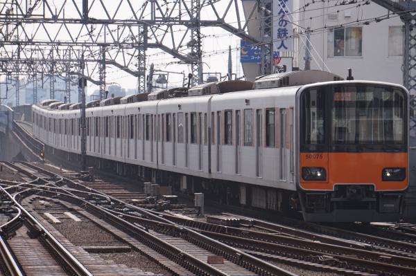 2018-02-27 東武51075F F特急森林公園行き