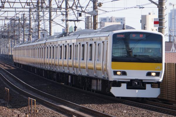 2018-03-04 ミツA507編成 中野行き
