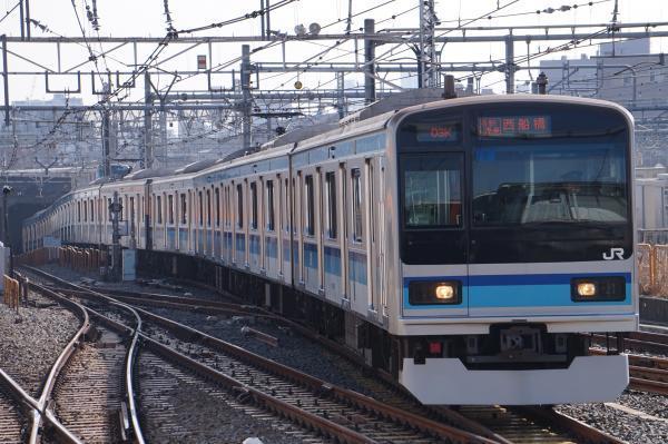 2018-03-04 ミツK2編成 各駅停車西船橋行き