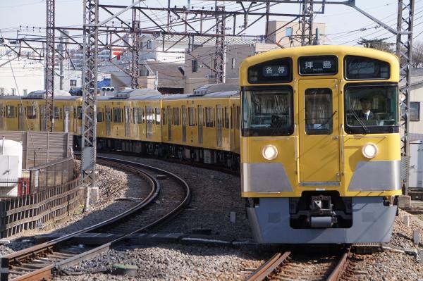 2018-03-06 西武2509F_2541F 各停拝島行き 5419レ