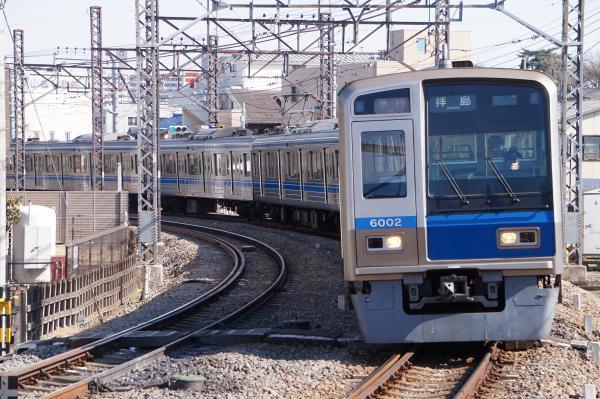 2018-03-06 西武6102F 急行拝島行き 2331レ