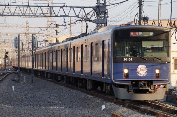2018-03-06 西武20104F 急行飯能行き 2163レ