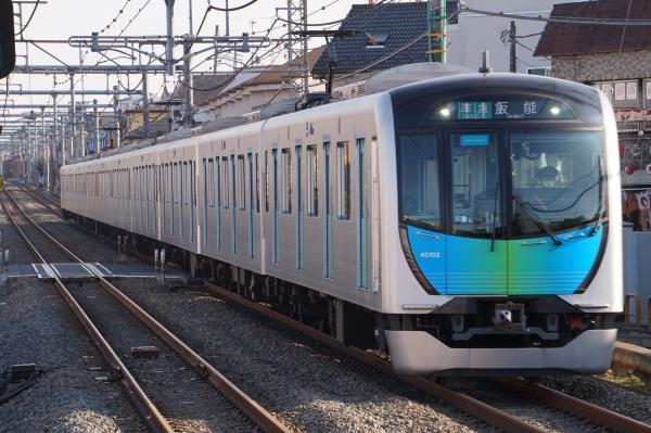 2018-03-06 西武40102F 準急飯能行き 4143レ