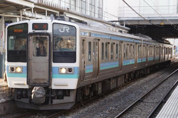2018-03-14 ナノN313編成 快速みすず飯田行き