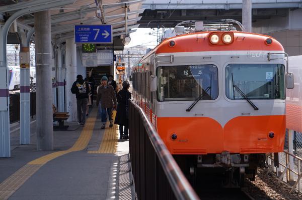 2018-03-14 上高地線3003F 松本行き1