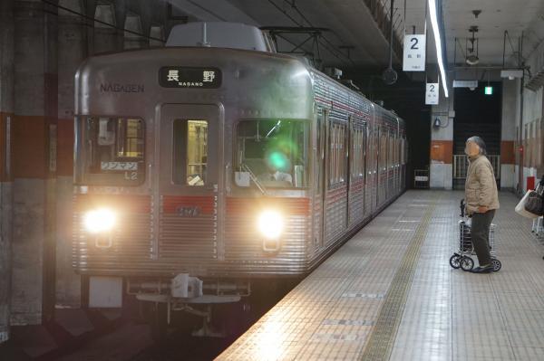 2018-03-15 長野電鉄L2編成 長野行き